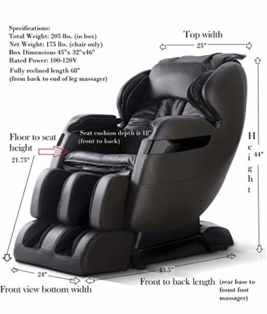 forever rest massage chair topratedhomeproducts info
