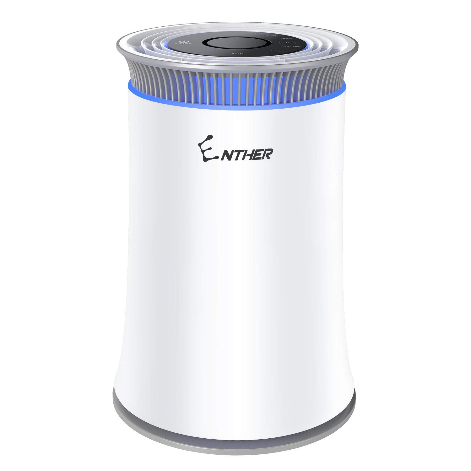 Enther Air Purifier with True HEPA Filter