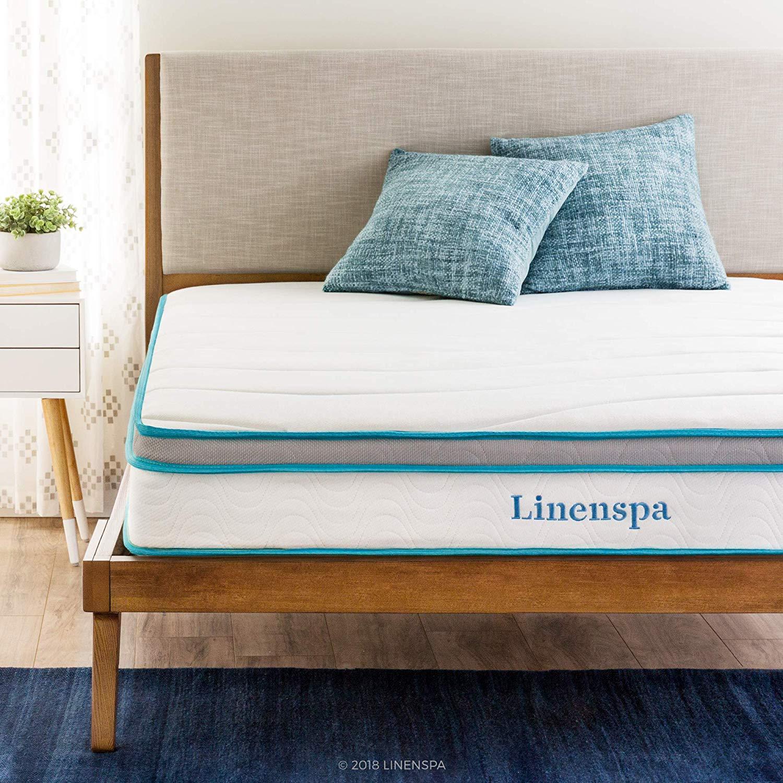 LINENSPA memory foam mattress topratedhomeproducts