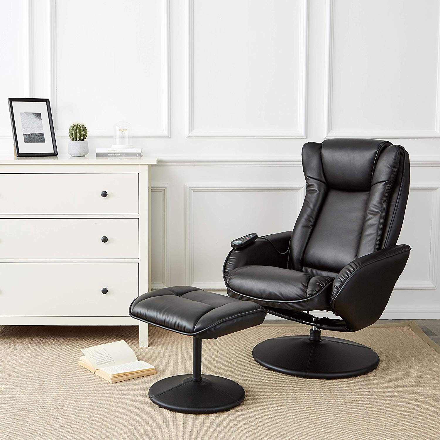 Massaging Leather Recliner Massage Chair features