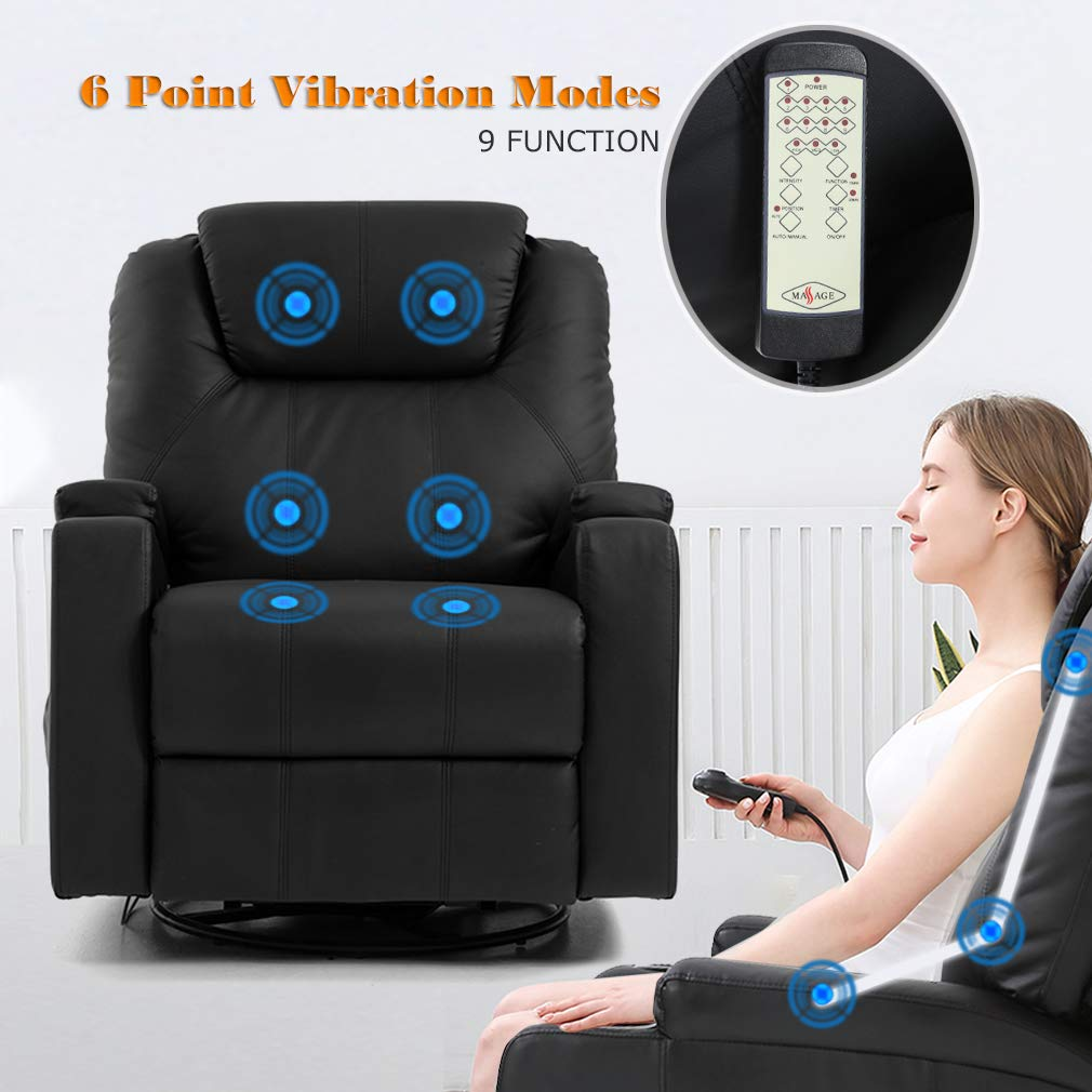 Recliner Leather Electric Massage Chair info