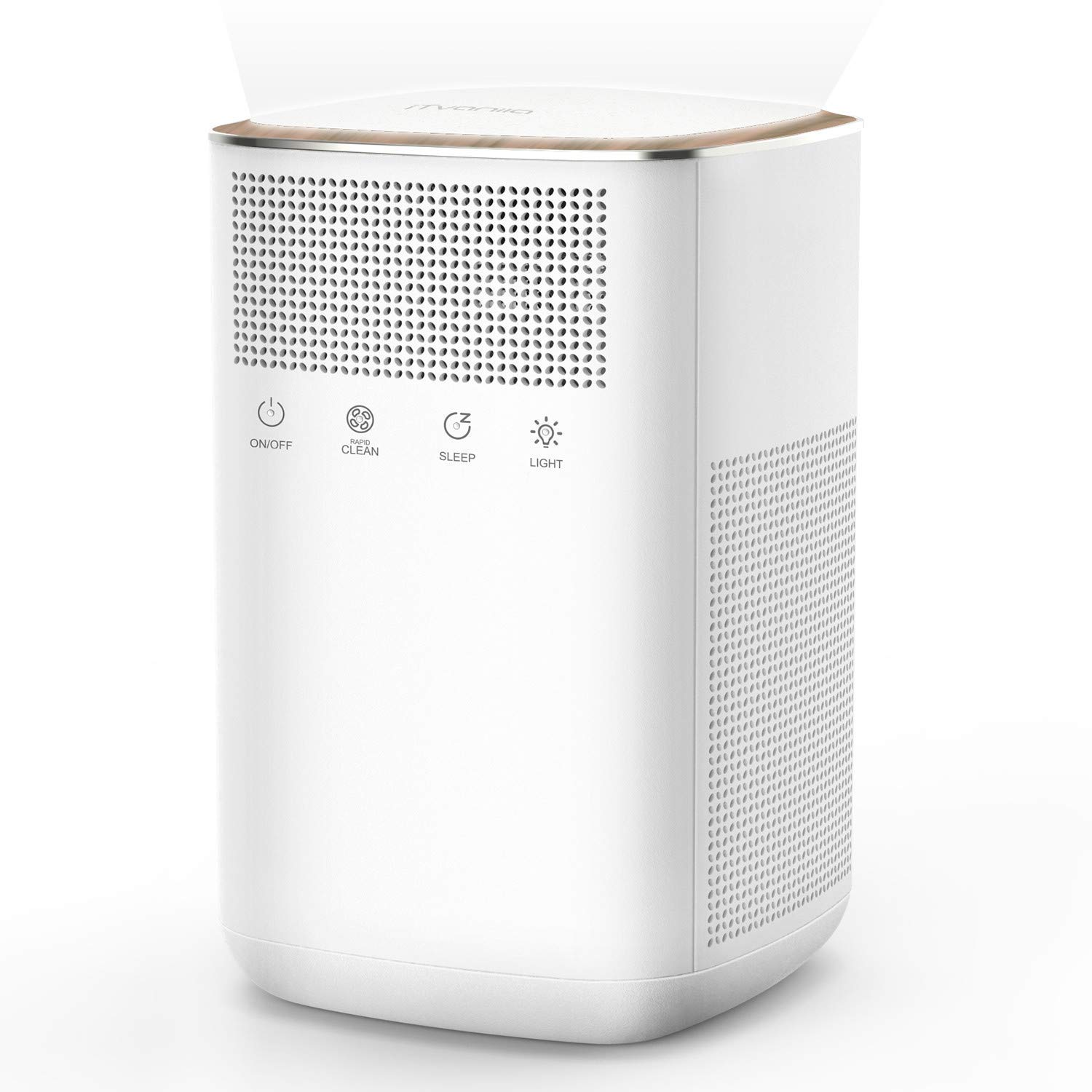 iTvanila Air Purifier with 3M True HEPA Filter, Room Air Purifiers