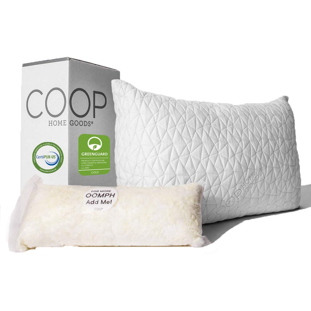 Coop Home Goods – Cross Cut-Hypoallergenic - Pillow Reviews - topratedhomeproducts