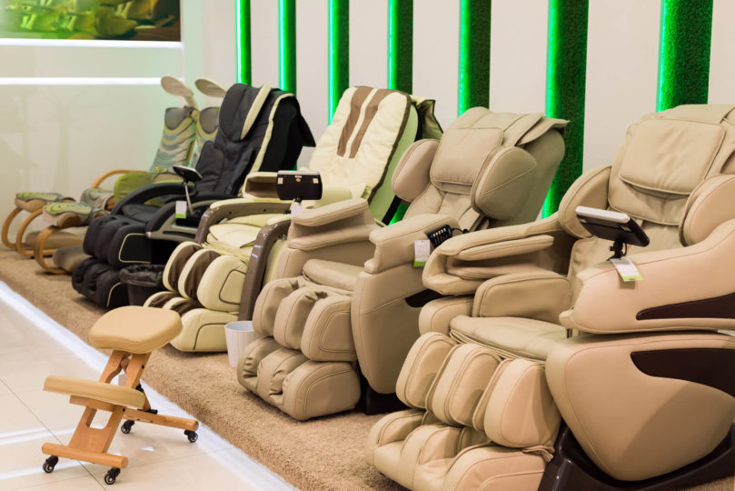 Types of massage chairs