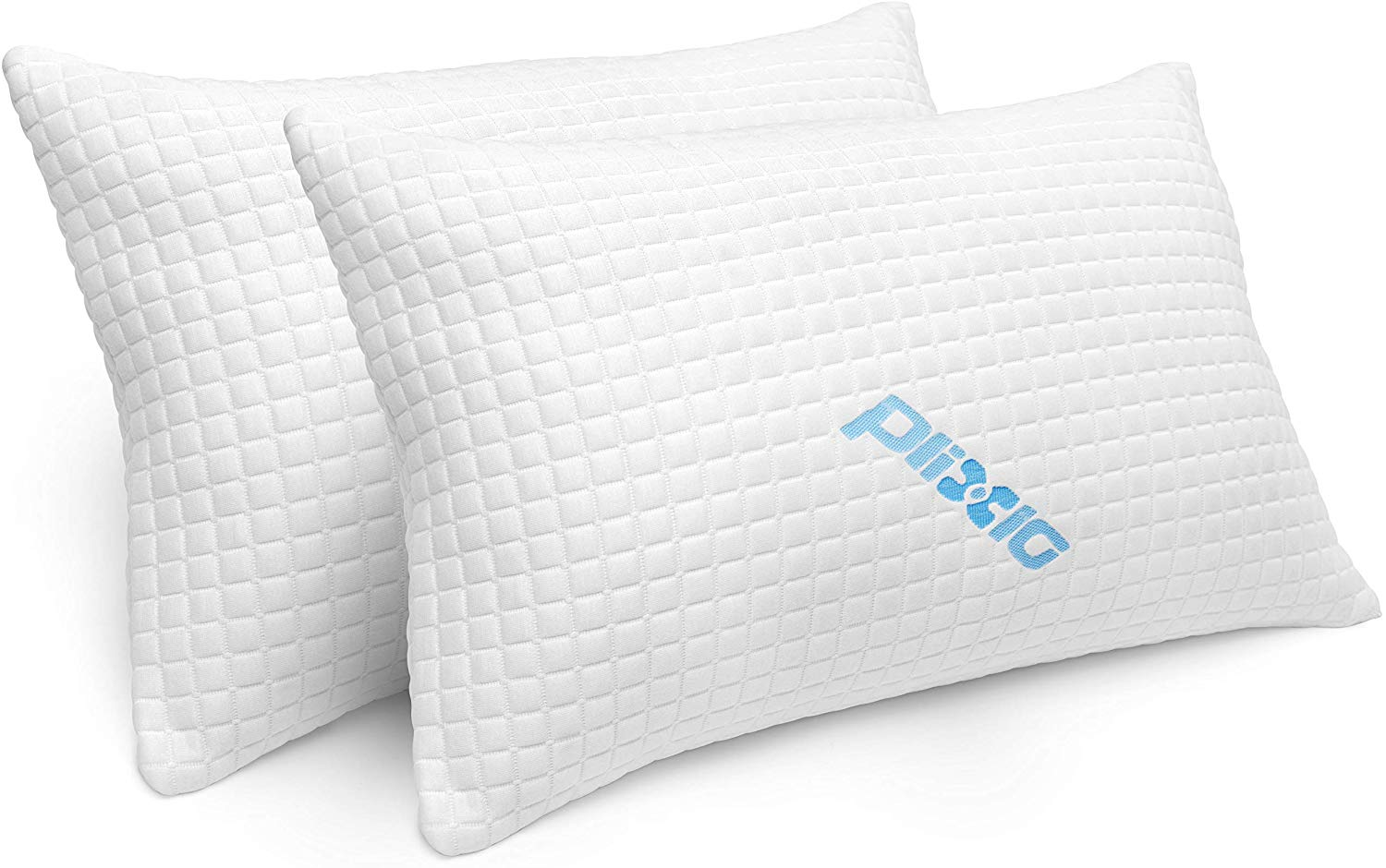 Pack Shredded Memory Foam Bed Pillows topratedhomeproducts