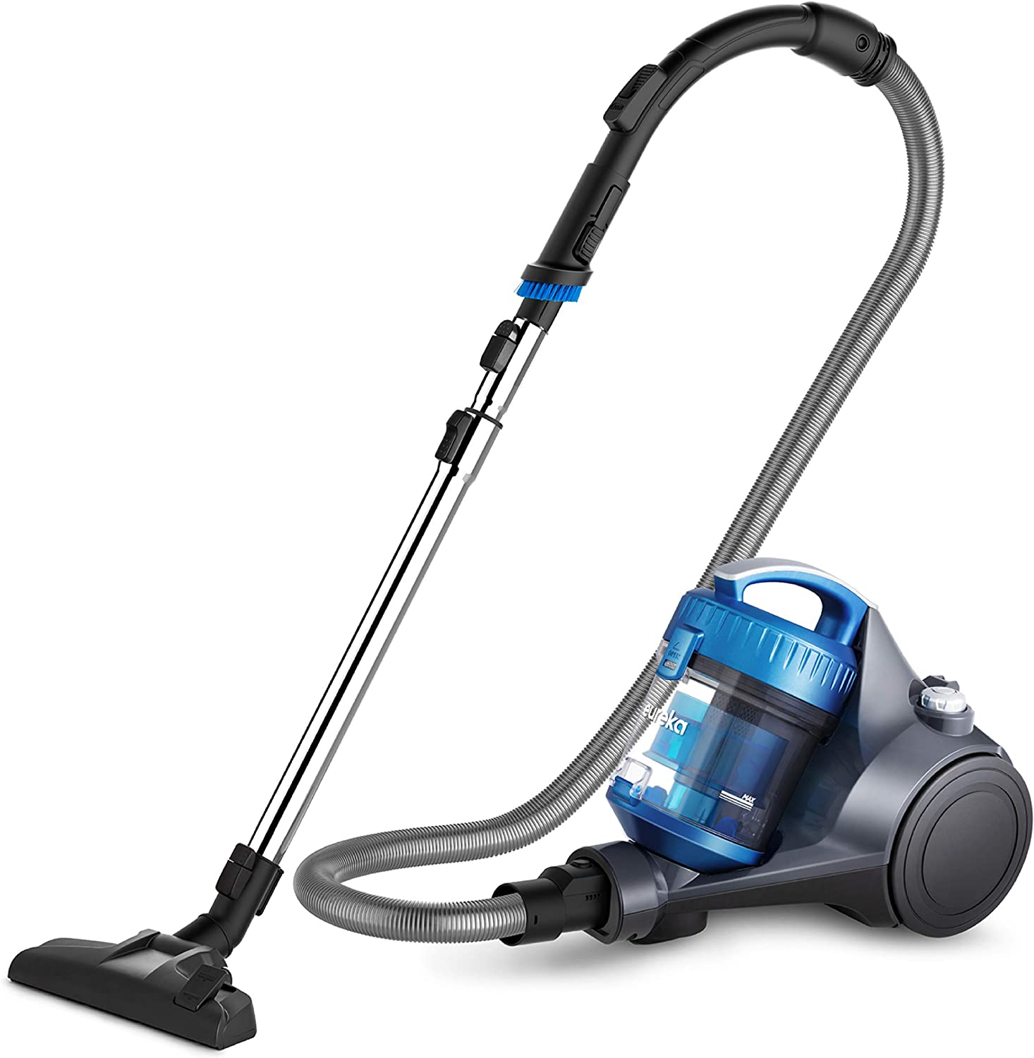 Eureka WhirlWind Bagless Canister Cleaner NEN110A Lightweight Corded Vacuum for Carpets